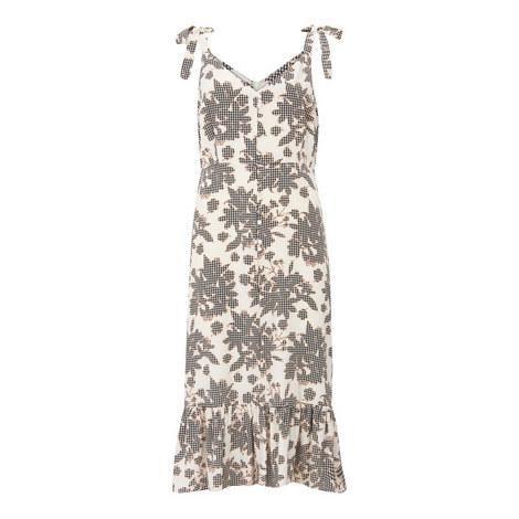 Suki Print Ruffled Hem Dress, ${color}