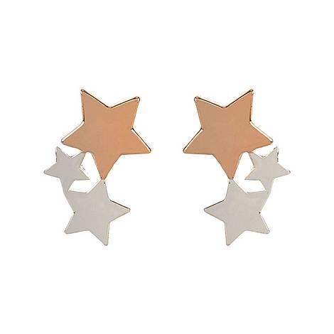 Trio Star Stud Earrings, ${color}