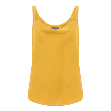 Ochre Cowl Front Camisole, ${color}
