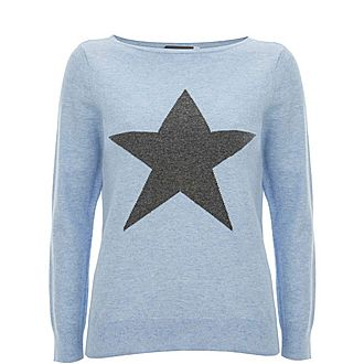 Star Front Knit
