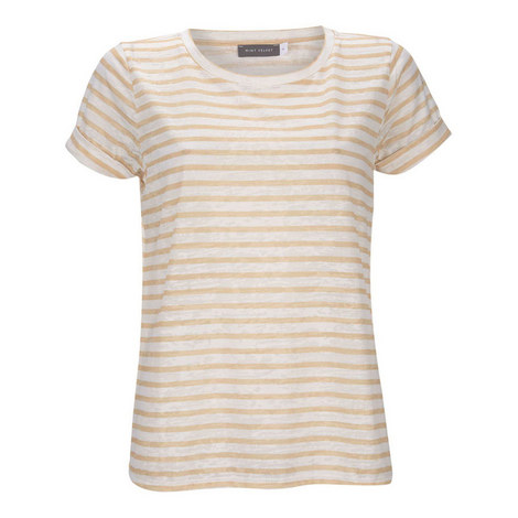 Striped Burnout T-Shirt, ${color}