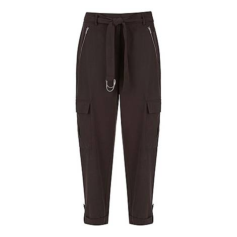Chocolate Utility Trouser, ${color}