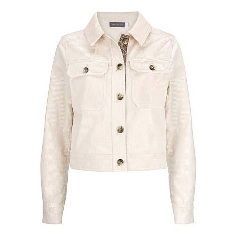 Cord Cropped Jacket, ${color}