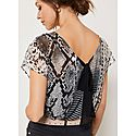 Snake Print Top, ${color}
