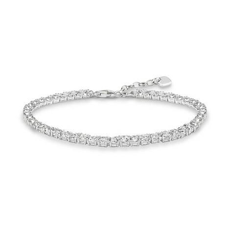Zirconia Tennis Bracelet, ${color}