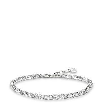 Zirconia Tennis Bracelet