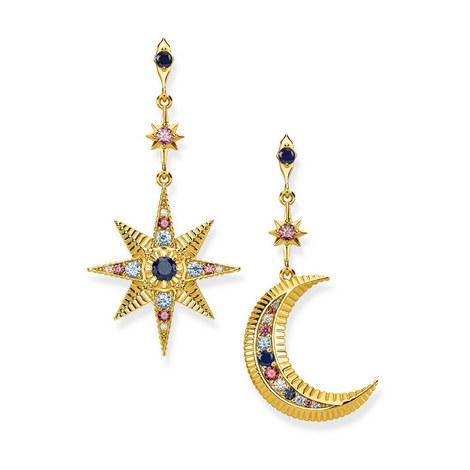 Kingdom of Dreams Star & Moon Earrings, ${color}
