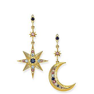 Kingdom of Dreams Star & Moon Earrings