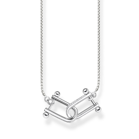 Iconic Chains Intertwined Necklace, ${color}