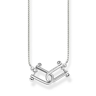 Iconic Chains Intertwined Necklace