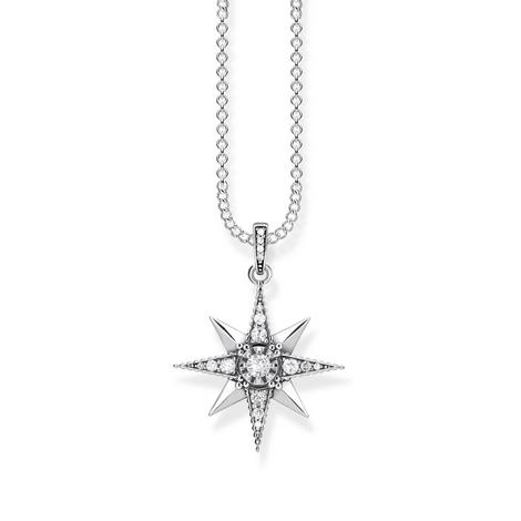 Kingdom of Dreams Zirconia Star Necklace, ${color}
