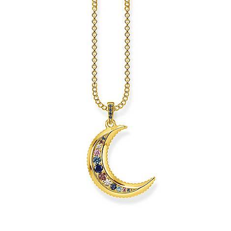 Kingdom of Dreams Moon Necklace, ${color}
