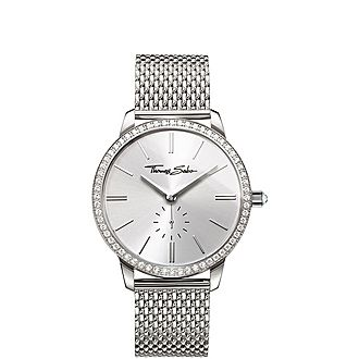 Glam Spirit Pavé Mesh Women's Watch