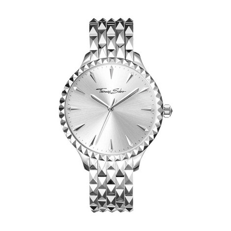 Pyramid Studs Watch, ${color}