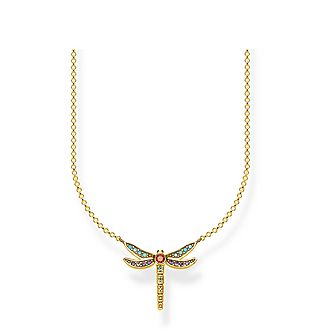 Paradise Colours Small Dragonfly Necklace