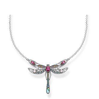 Paradise Colours Medium Dragonfly Necklace