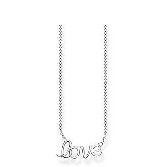 Love Anchor Necklace