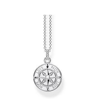 Love Faith & Hope Compass Necklace