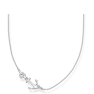 Love Anchor and Heart Necklace