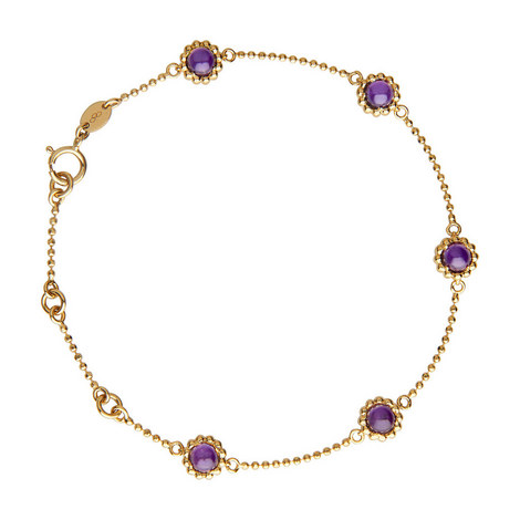 Amethyst and Vermeil Bracelet, ${color}
