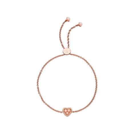 Open Heart Pink Opal Bracelet, ${color}