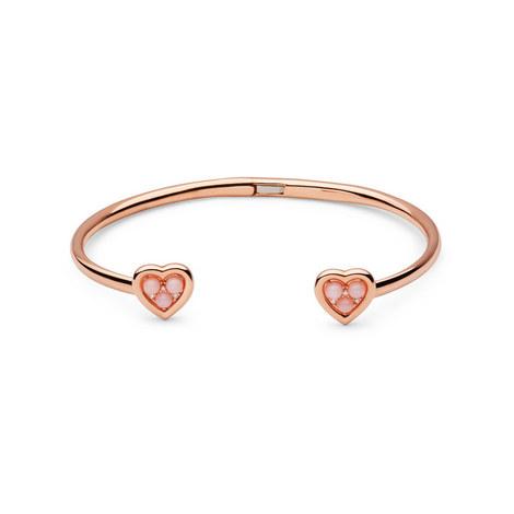 Open Heart Opal & Diamond Cuff, ${color}