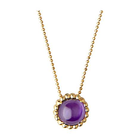 Amethyst Pendant Necklace, ${color}