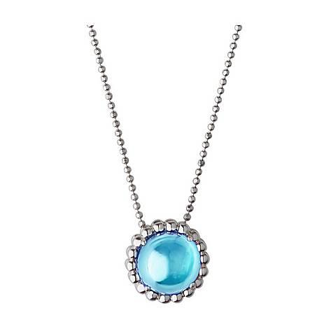 Topaz Pendant Necklace, ${color}