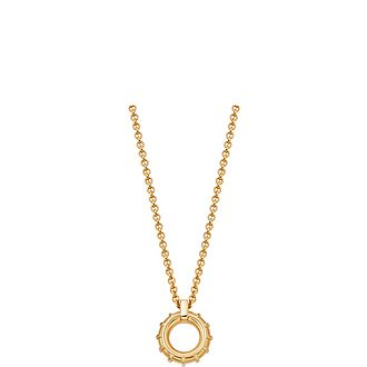 Brutalist Yellow Gold Vermeil Necklace