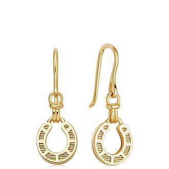 Ascot Horseshoe Earrings