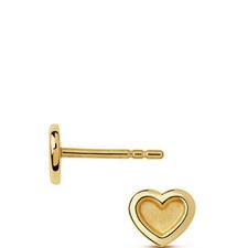 Love Heart Stud Earrings