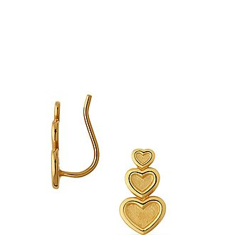 Endless Love Single Climber Earring