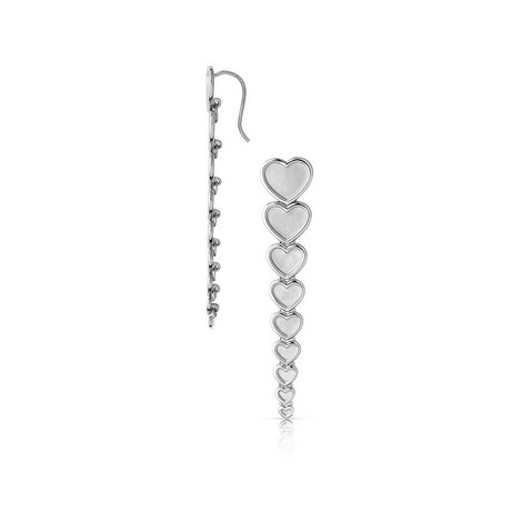 Endless Love Heart Drop EarringS, ${color}