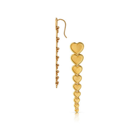 Endless Love Heart Drop Earring, ${color}