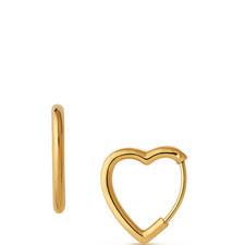 Endless Love Mini Heart Hoop Earrings