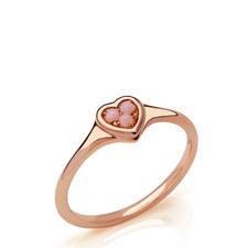 Open Heart Opal Ring
