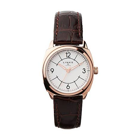 Brompton Leather Watch, ${color}