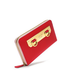 Style Code Zipped Continental Wallet
