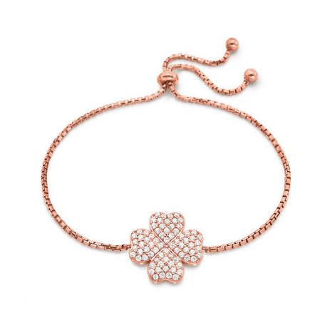 Heart4Heart Clover Bracelet, ${color}