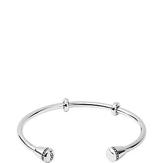Amulet Sterling Silver Charm Cuff