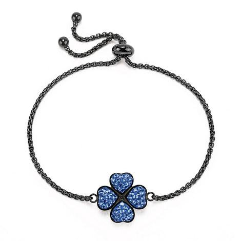 Heart4Heart Steel & Gemstone Bracelet, ${color}
