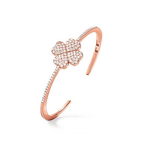 Heart4Heart Clover Bangle, ${color}