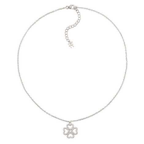 Miss Heart4Heart Clover Necklace, ${color}