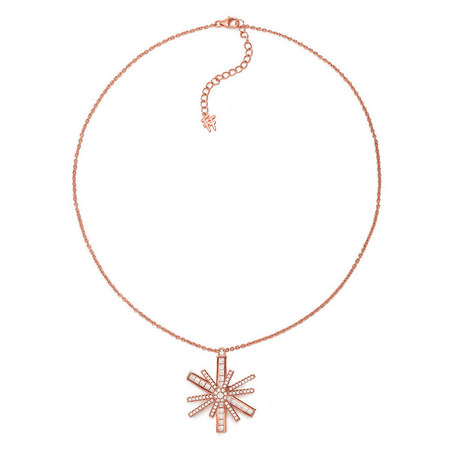 Star Flower Necklace, ${color}