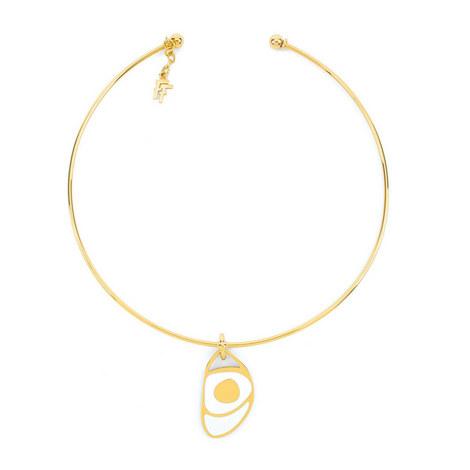 Talisman Collar Necklace, ${color}