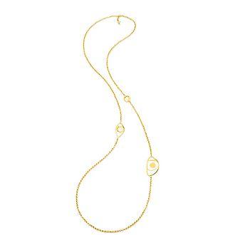 Talisman Stone Long Necklace