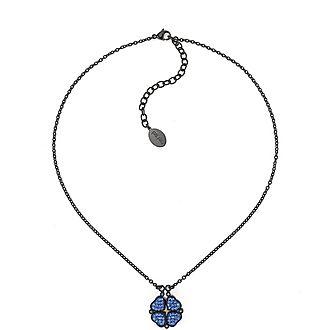 Heart4Heart Steel & Gemstone Necklace