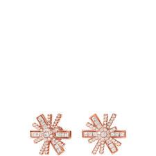 Star Flower Stud Earrings