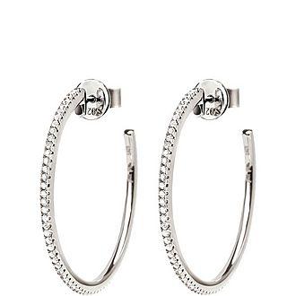 Fashionably Hoop Earrings Medium