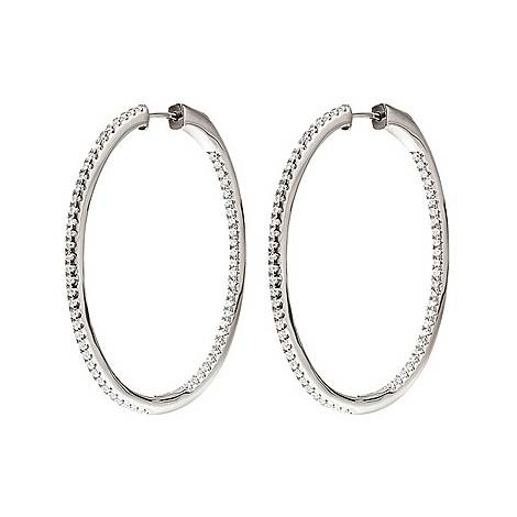 Fashionably Hoop Earrings Large, ${color}